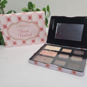 Beauty Creations Eyeshadow Palette Bare Naked NEW